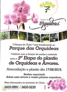 Parque das Orquídeas Clube 7 terceira etapa