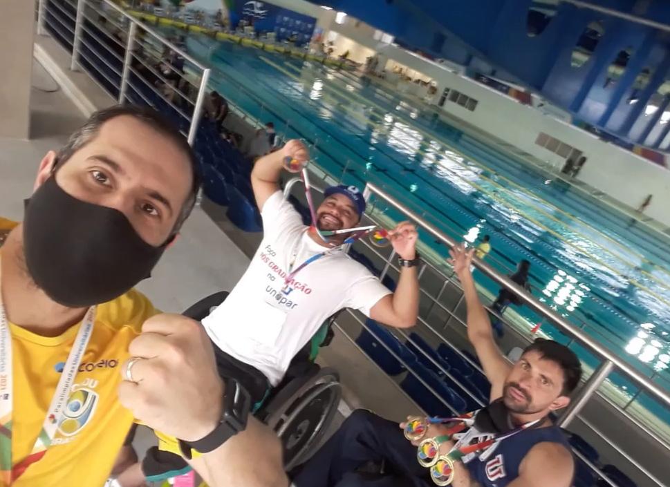 Paratletas de Xanxerê conquistam medalhas de ouro em Paralimpíadas Universitárias